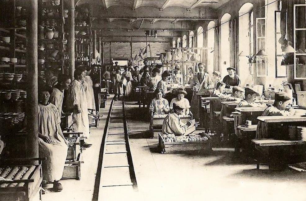 Manufacture de faience