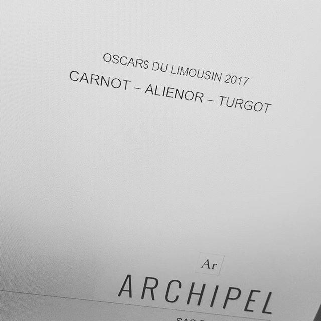 """Et c'est reparti! Ce soir, Archipel est nommée dans les catégories """"Artisanat et Créativité"""" et """"Ambition Réussite Jeune"""" Tout un programme... Affaire à suivre ce soir à Limoges!"""
