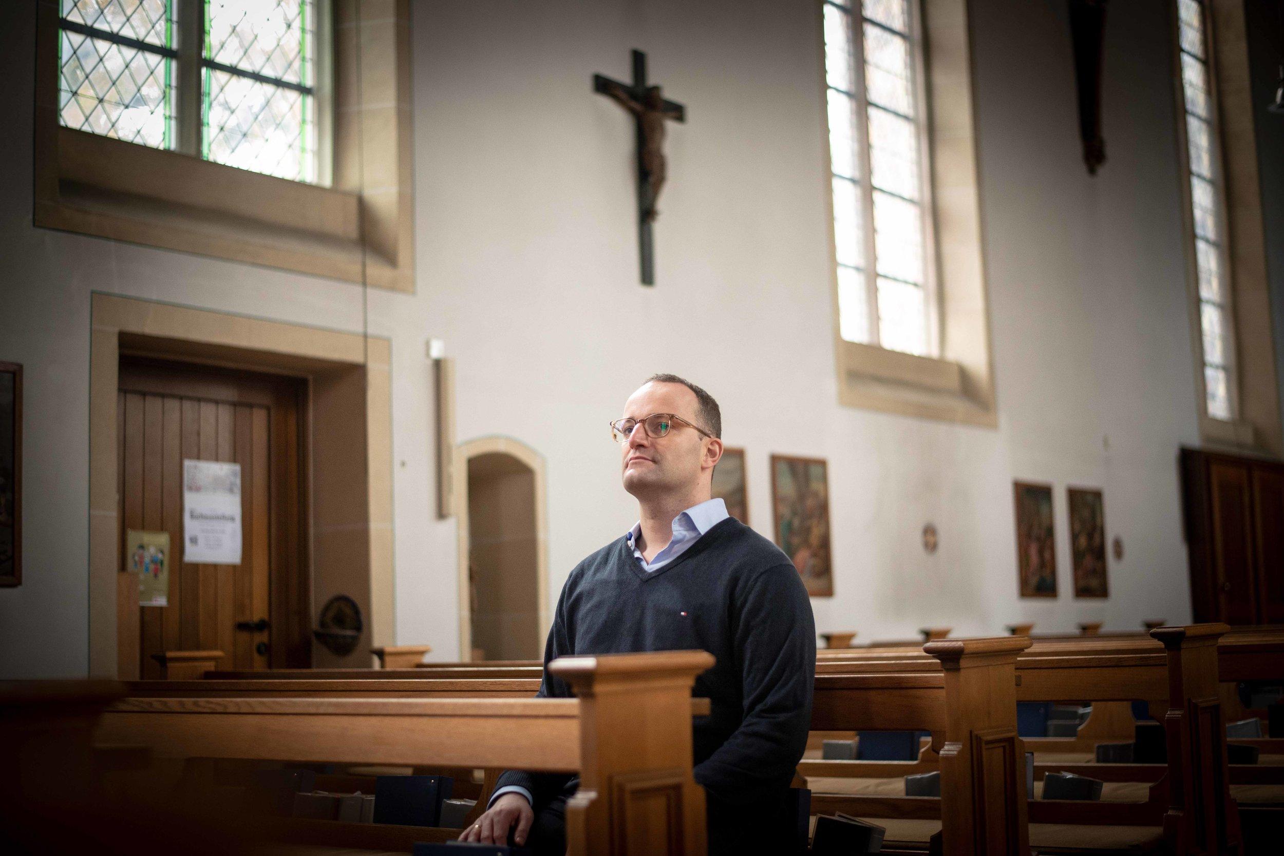 Jens Spahn Kirche