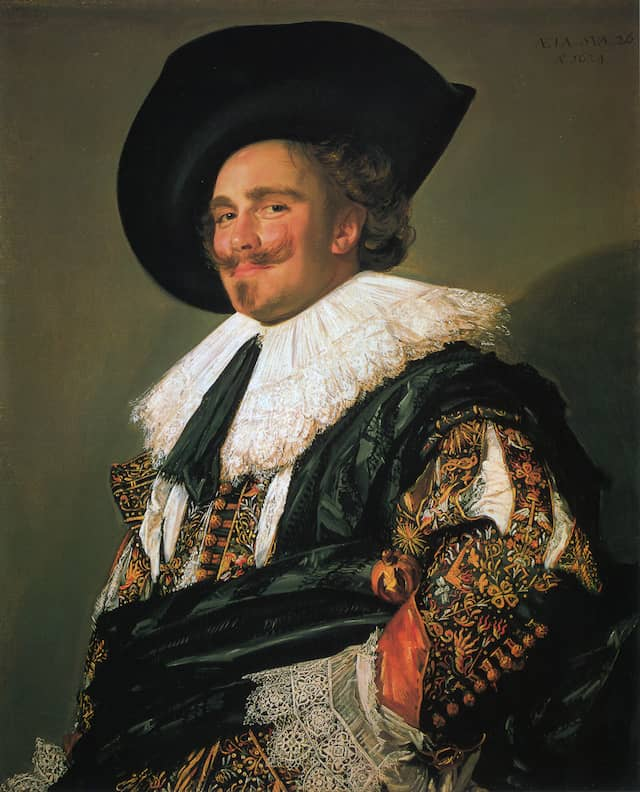 Laughing Cavalier - Frans Hals1624oil on canvas83 cm × 67.3 cm Wallace Collection, London