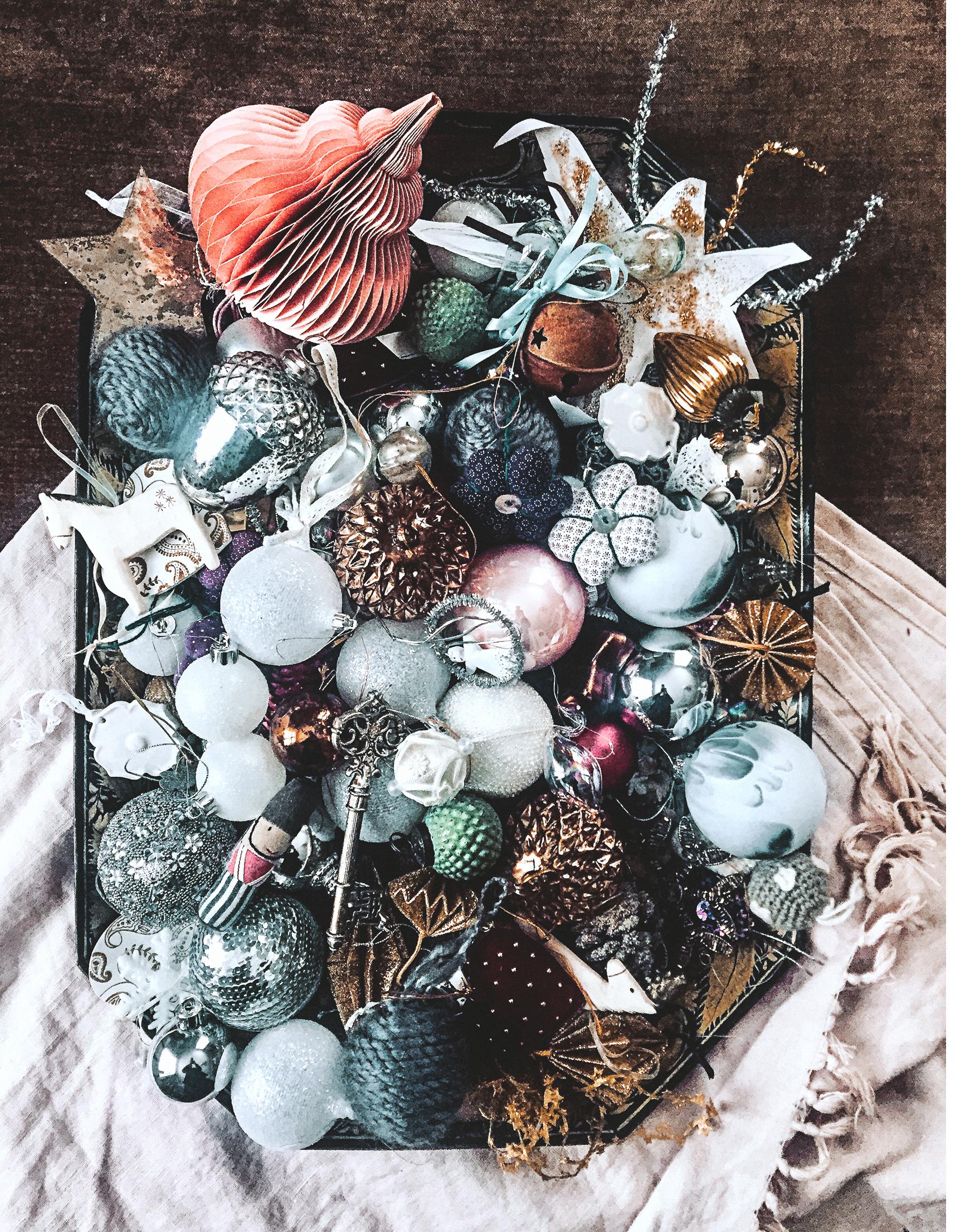 Julpyntet, lika mysigt att ta fram varje jul som att plocka bort efter nyår...