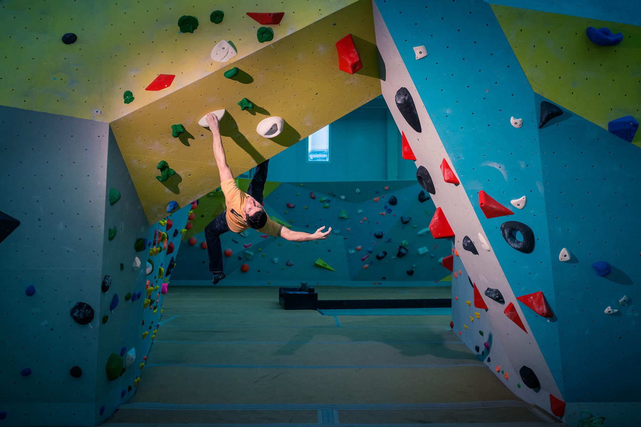 Blockhaus Boulderhalle Freiburg by Tom Bush