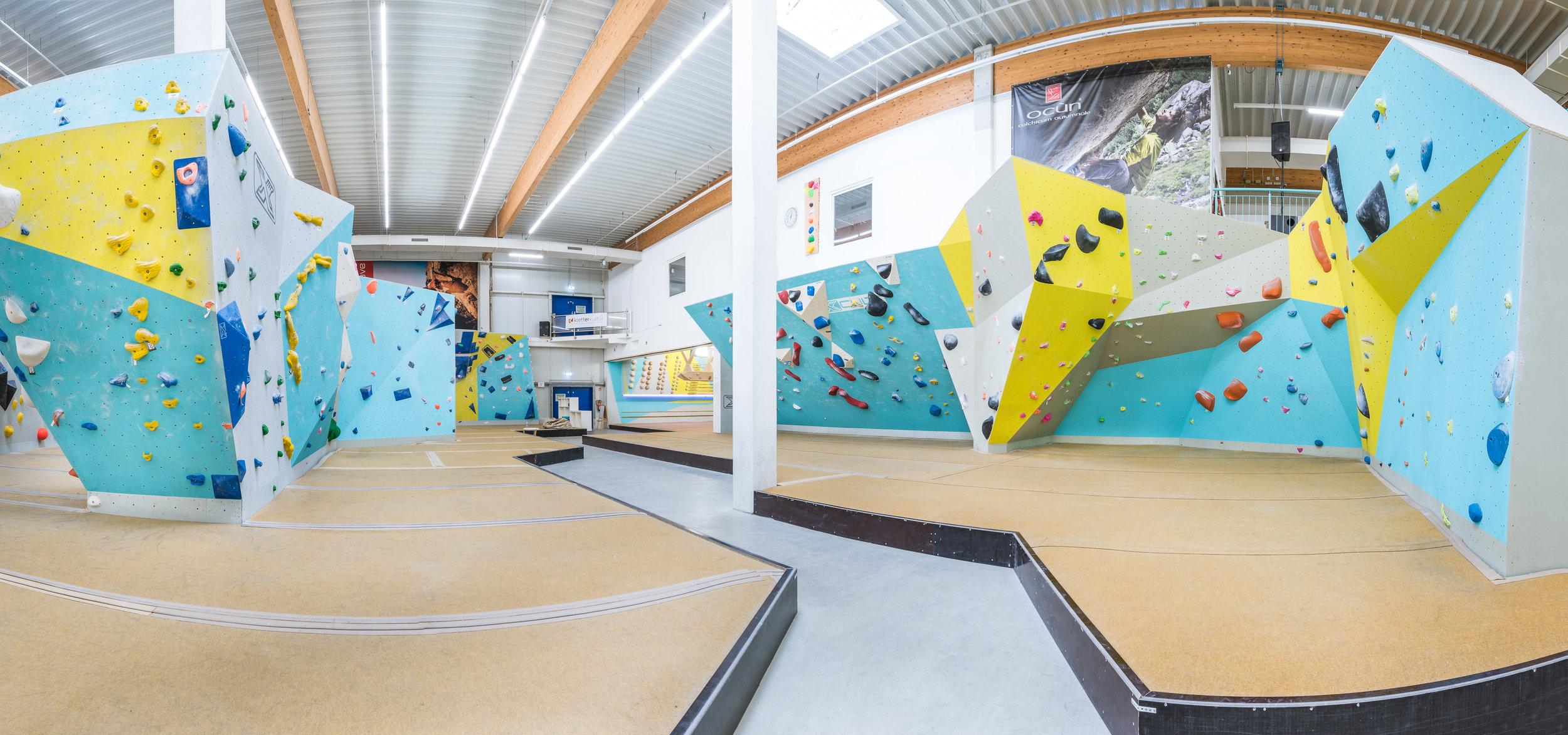 Boulderhalle Blockhaus Freiburg by Tom Bush