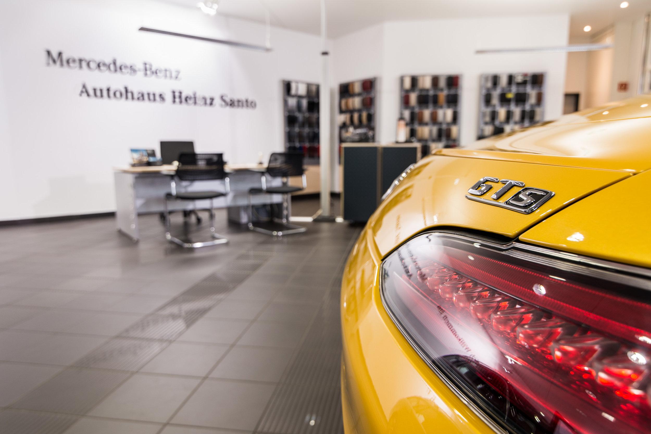 Autohaus Heinz Santo für Gunnar Schwehr Werbeagentur von Tom Bush