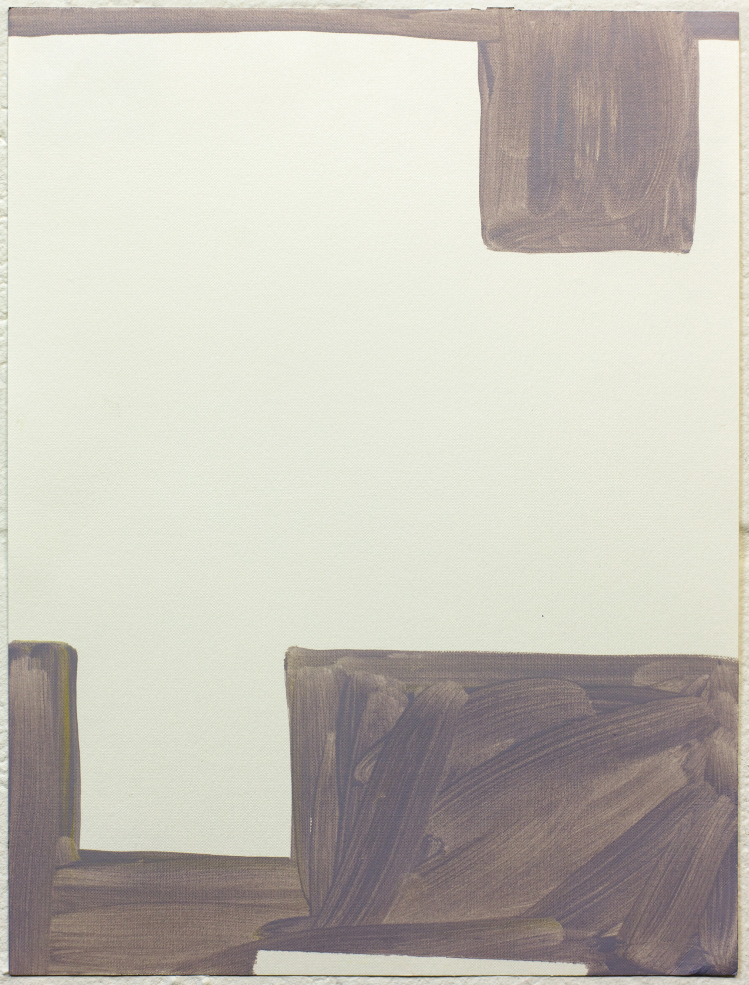Untitled 2014  Oil on paper  40 x 30 cm