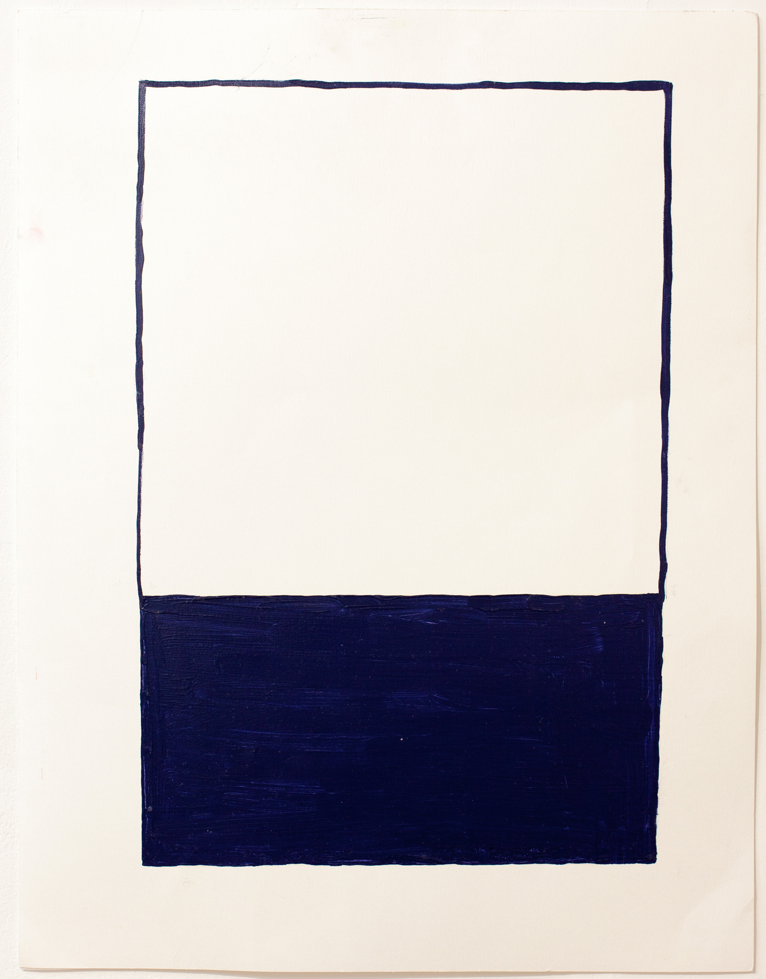 Untitled 2015  Oil on paper  65x50cm