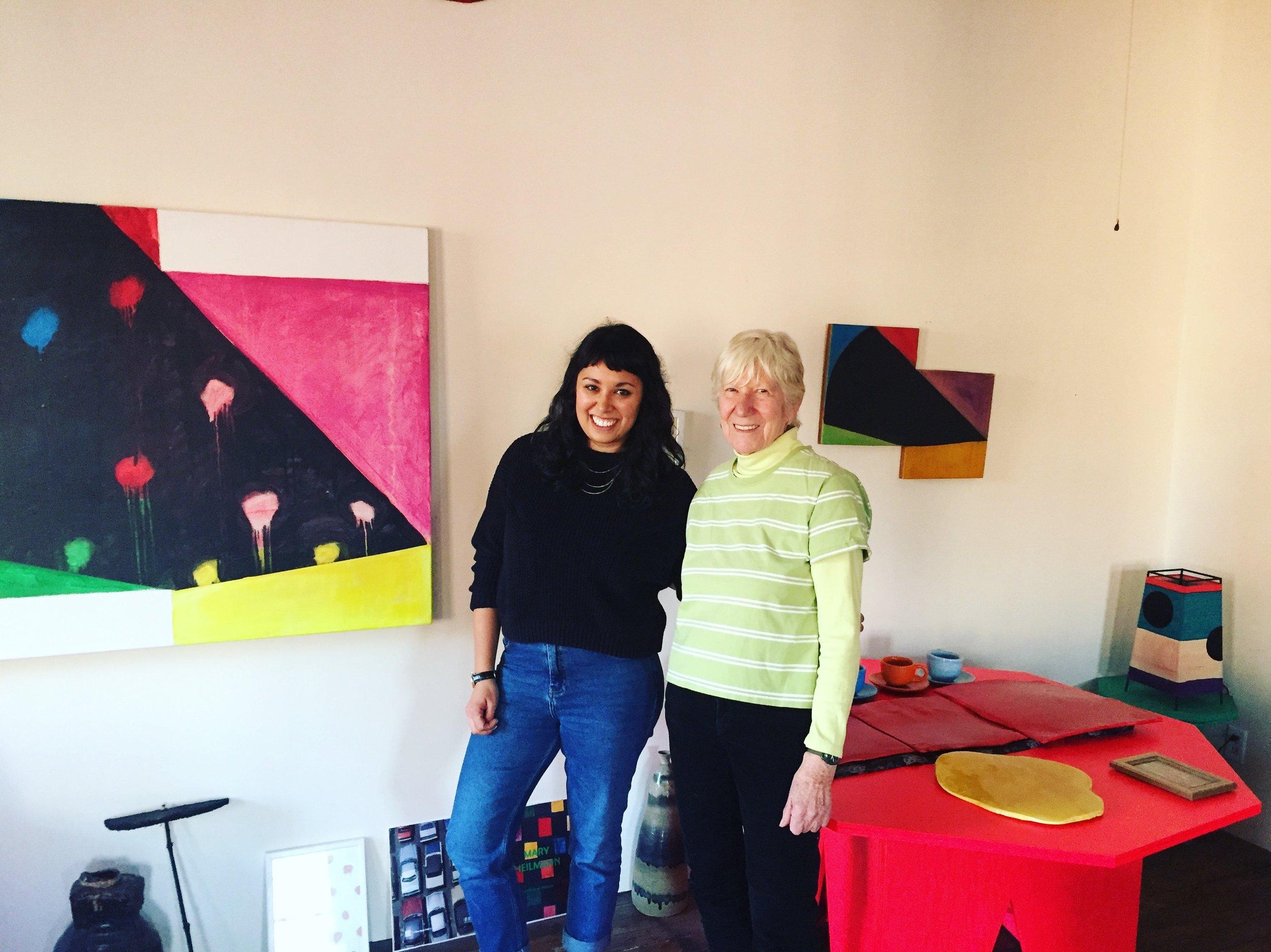 - Mary Heilmann, Jessica Wilson New York, February 2017