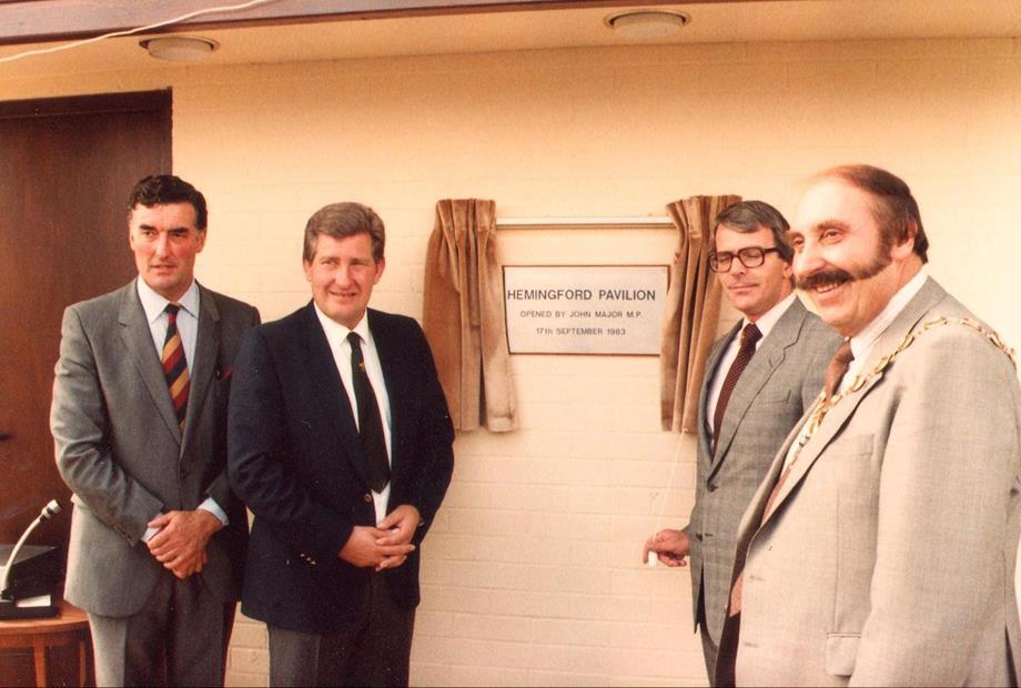 17th September 1983   John Major MP opens the new Pavilion