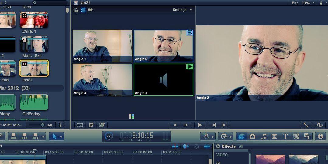 Edit Screen: Multi Cam for full creative edit expression