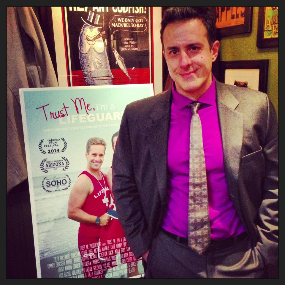 "Tribeca Film Festival Movie Premiere ""Trust Me I'm a Lifeguard"" 2014"