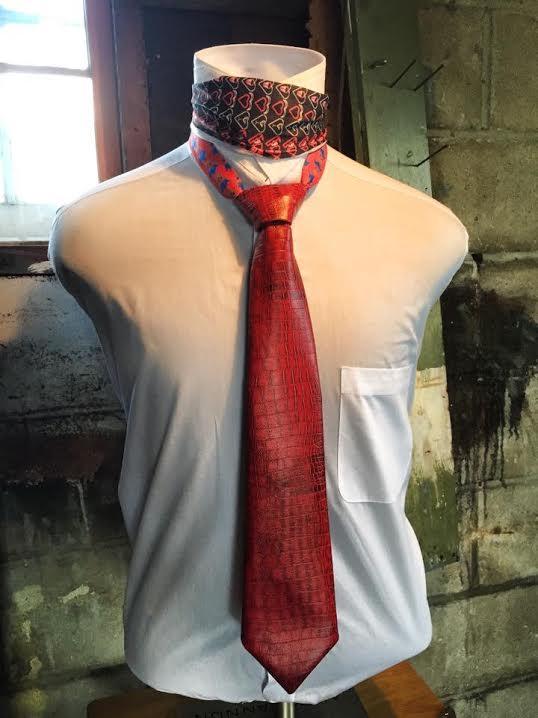 Red Vinyl Tie Full View.jpg