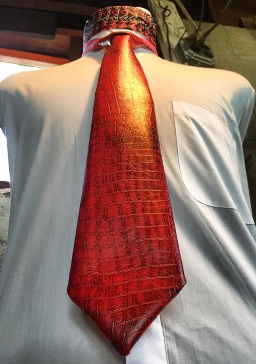 Red Vinyl Tie.jpg