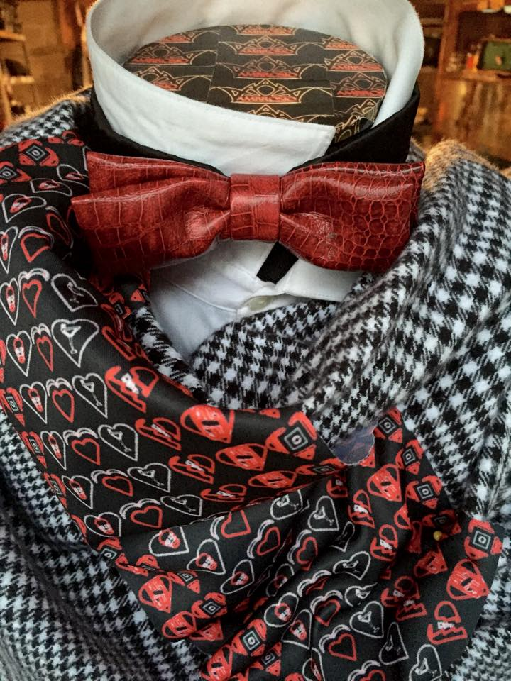 Red Bowtie Close Up w grey scarf.jpg