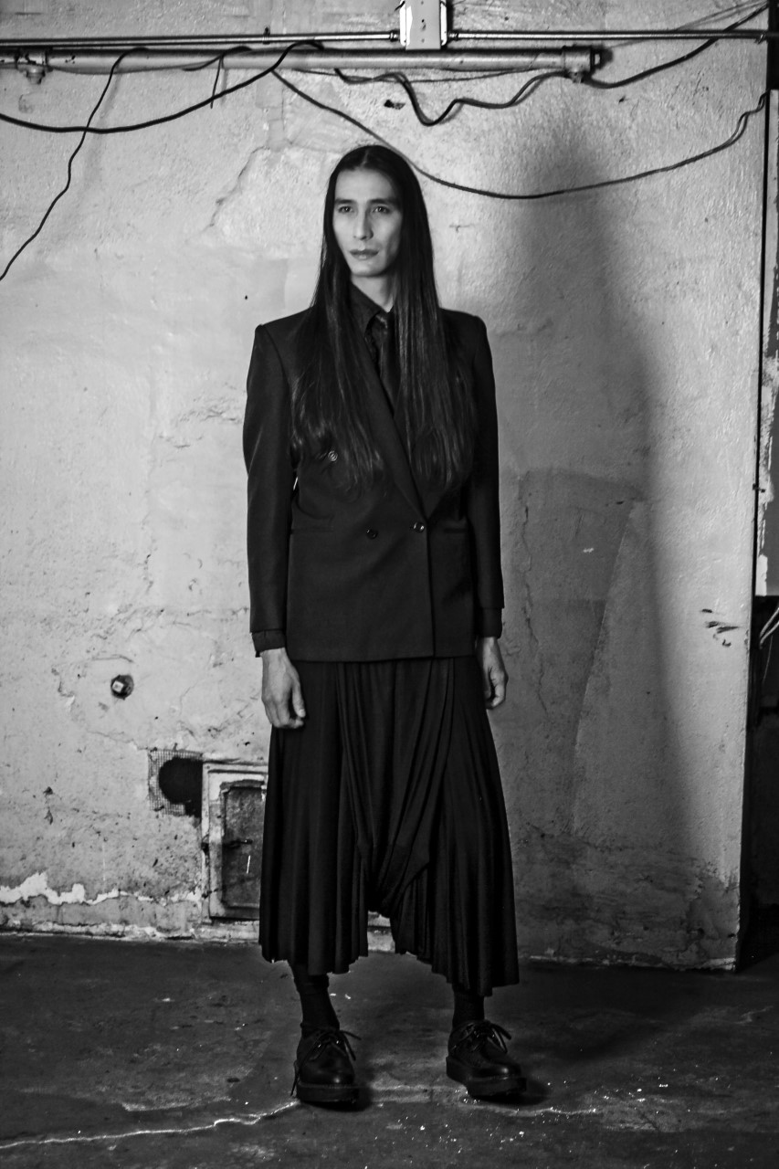 - Hand Made Black Pants by The Compani Crea designed by Gonzalo Guzman  #style #vampire #dark #decadent #cold #winter #fall #black #pieces #thelook #mute #story #lover #club #dinner #urban #office #date #unisex #universal #one