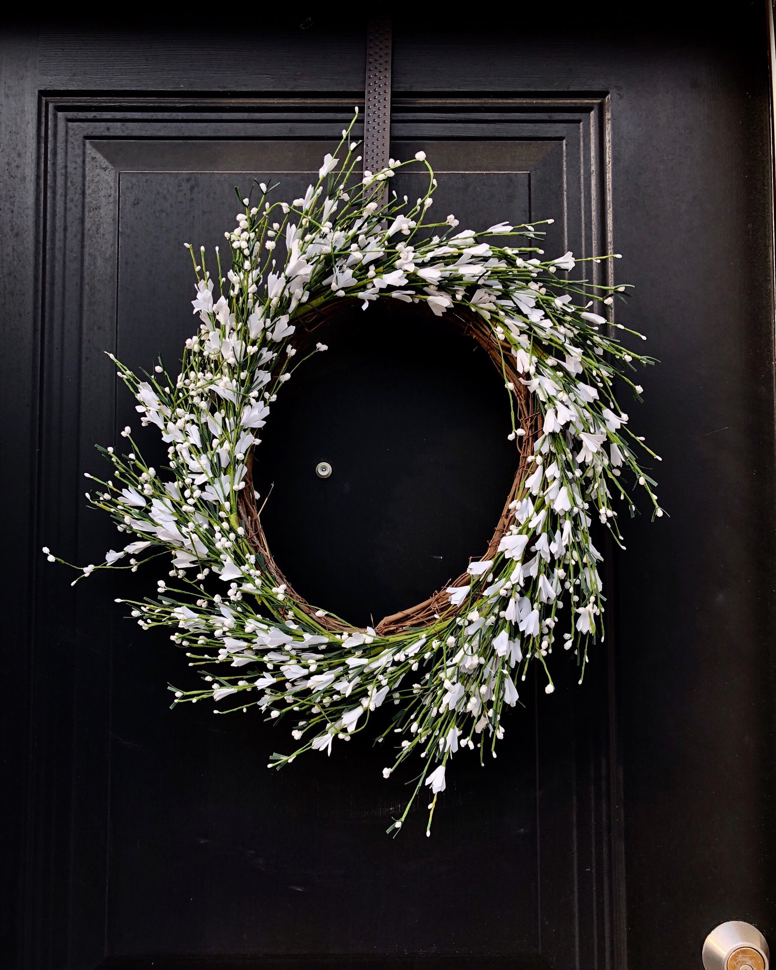 This spring or summer wreath is from Home Sense.