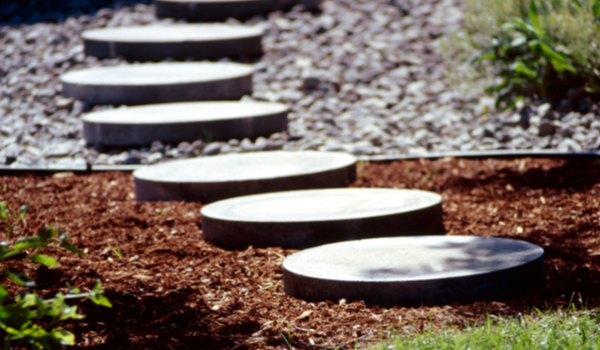 Landscape Stepping Stones