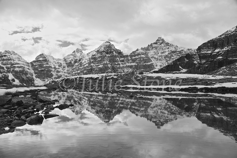 Valley of Ten Peaks Reflection, Canadian Rockies 2006