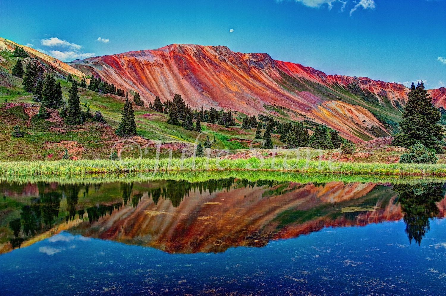 Red Mountain Reflection  2013 (2)