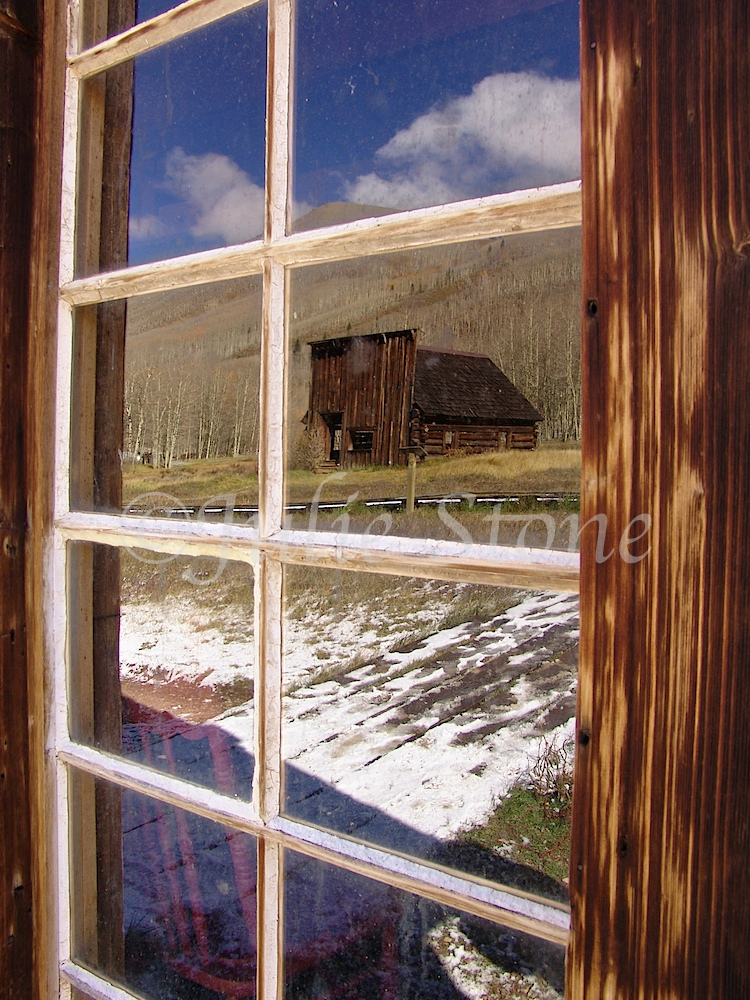 Ashcroft Ghost Town Window 2005