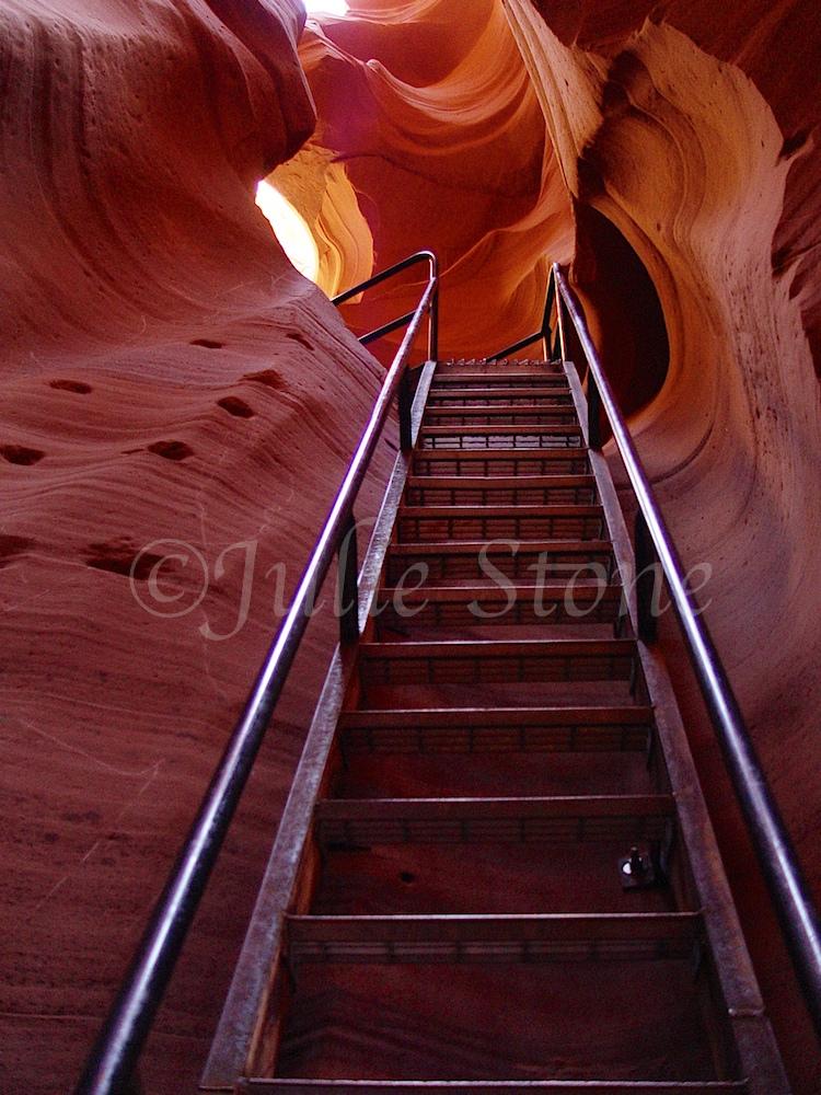 Lower Antelope Canyon ladder 2002