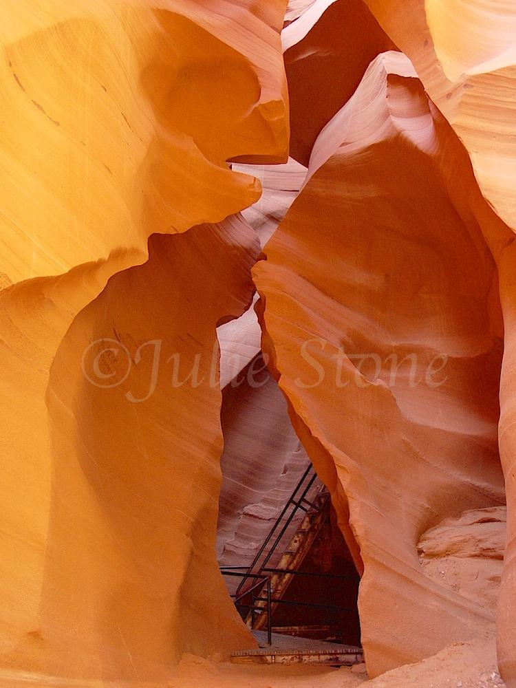 Lower Antelope Canyon Ladder  2002 (2)