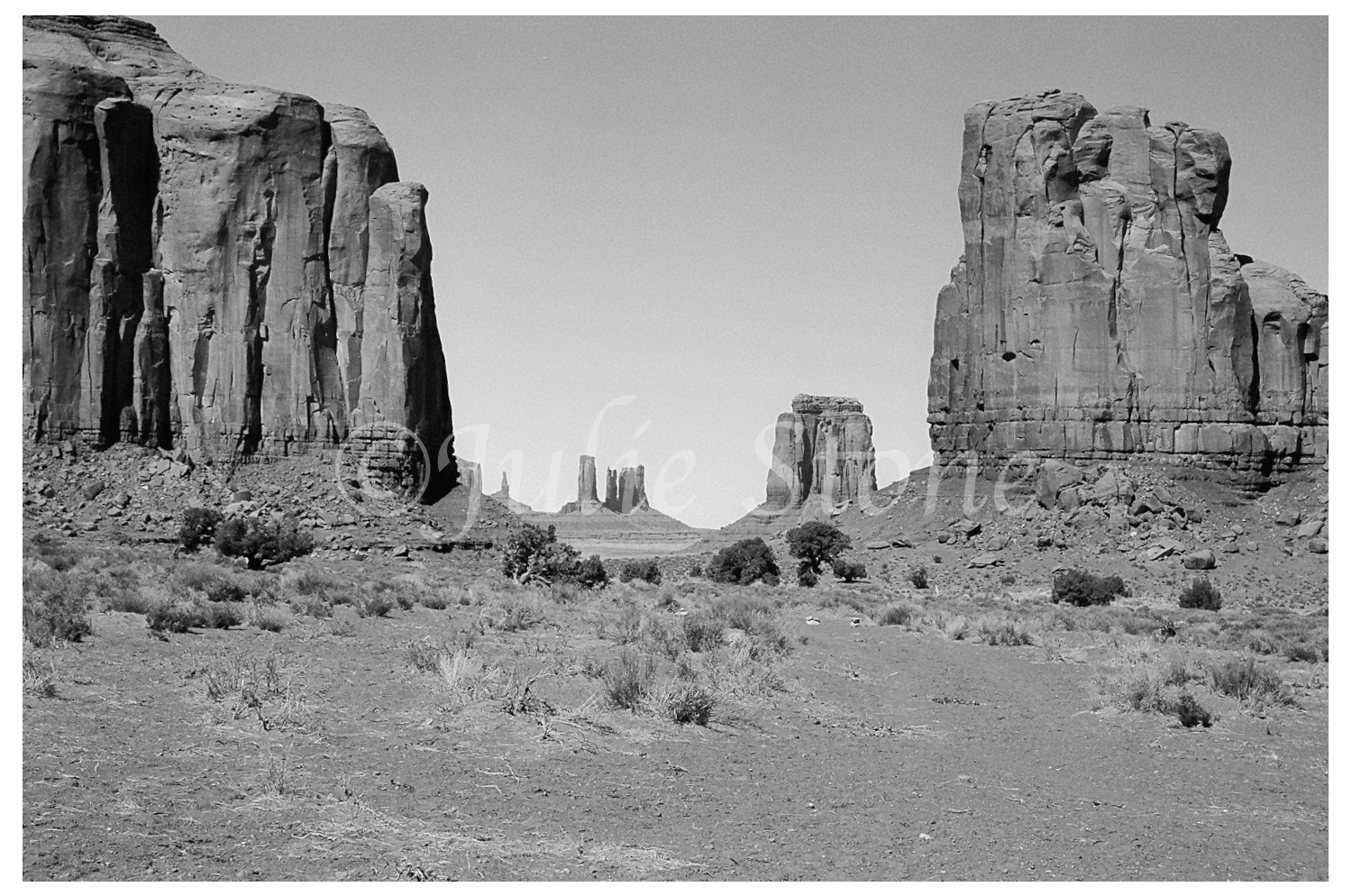 Monument Valley-The North Window 2004