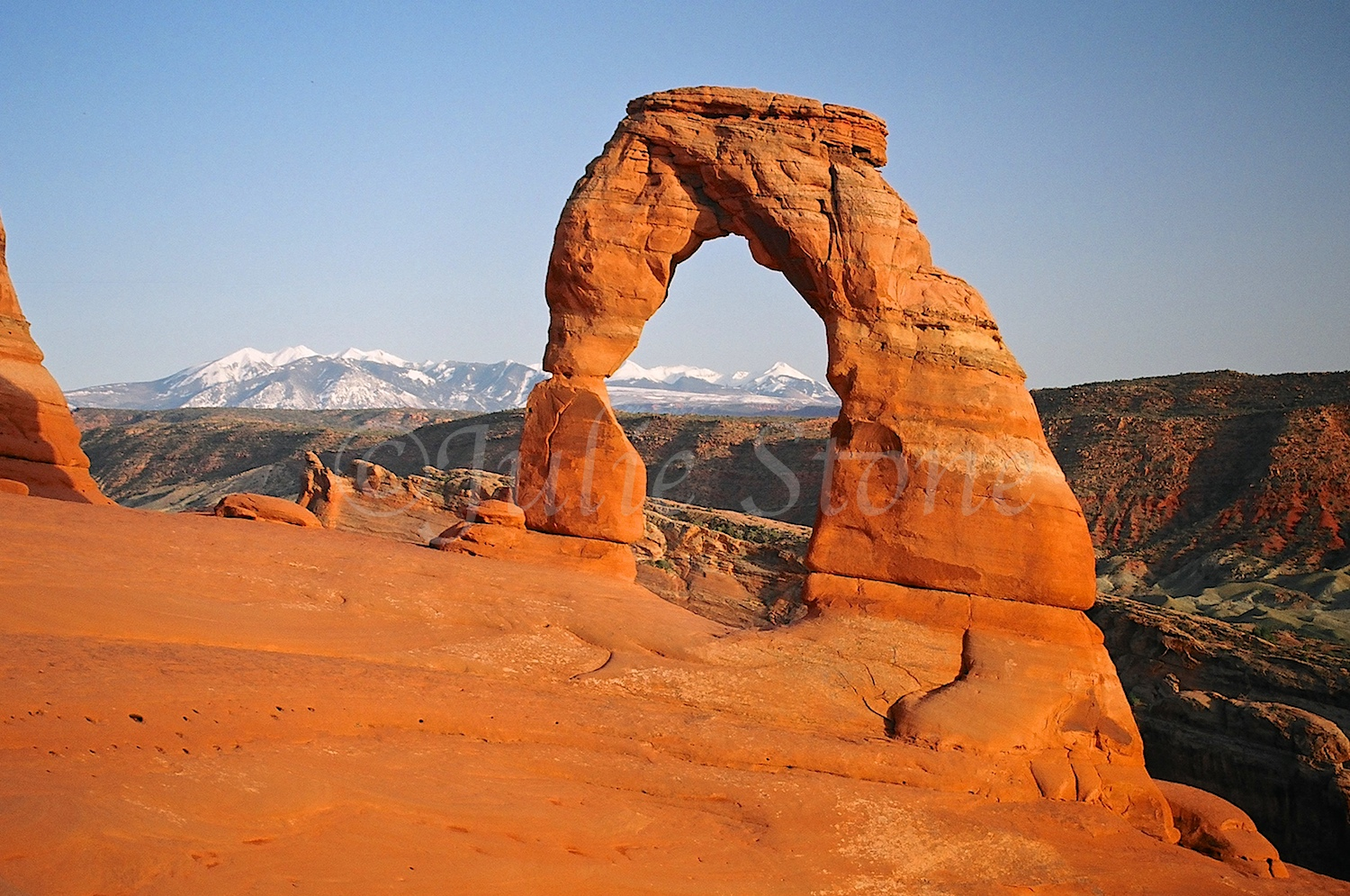 Delicate Arch, Arches National Park 2005
