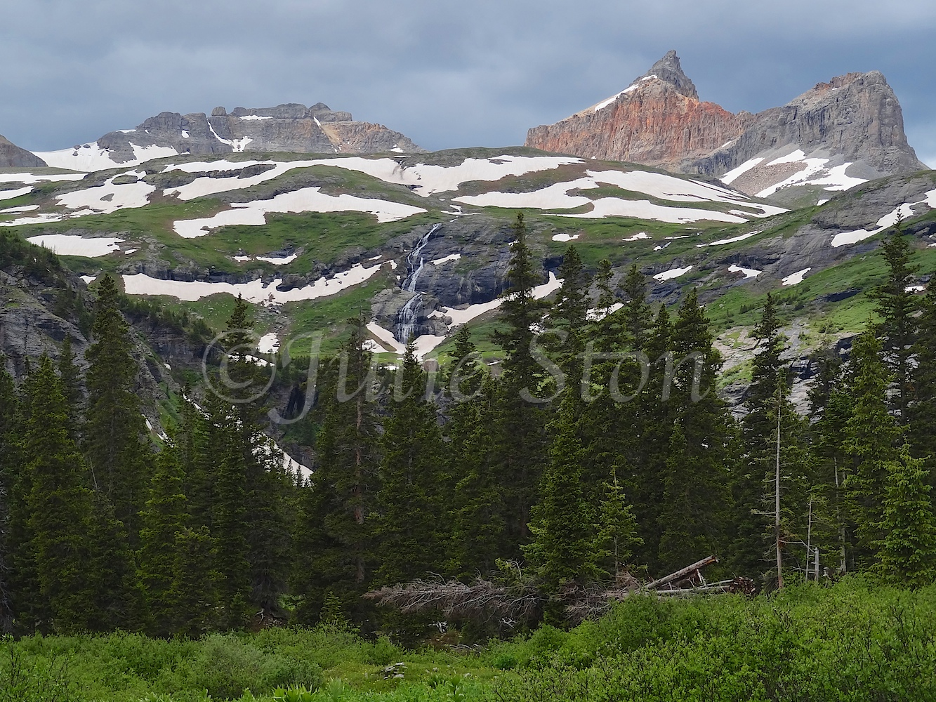Lower Ice Lakes Basin 2011