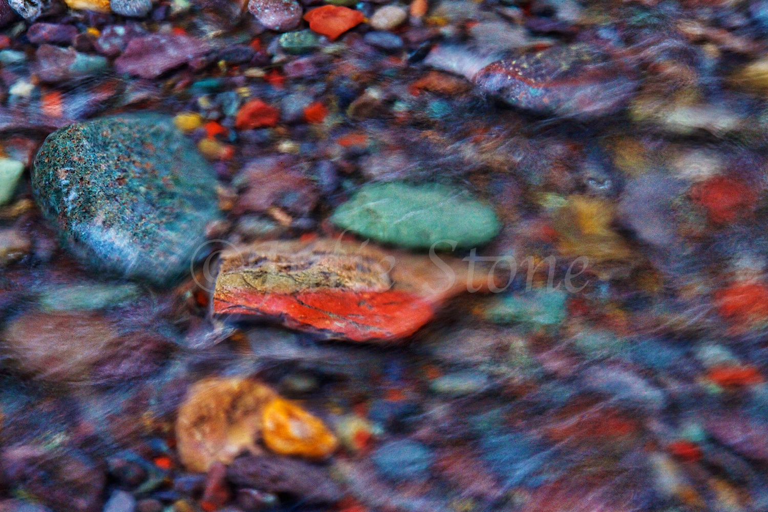 SOUTH MINERAL ROAD RIVER ROCKS 2014