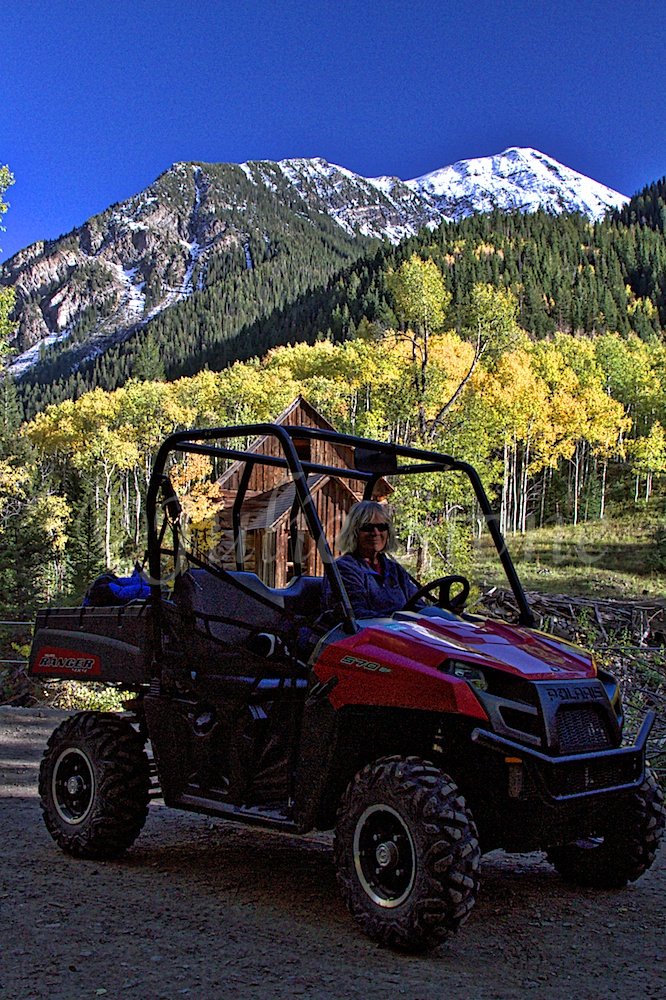 Crystal Mill Fall 2014 - Zarita my fearless driver