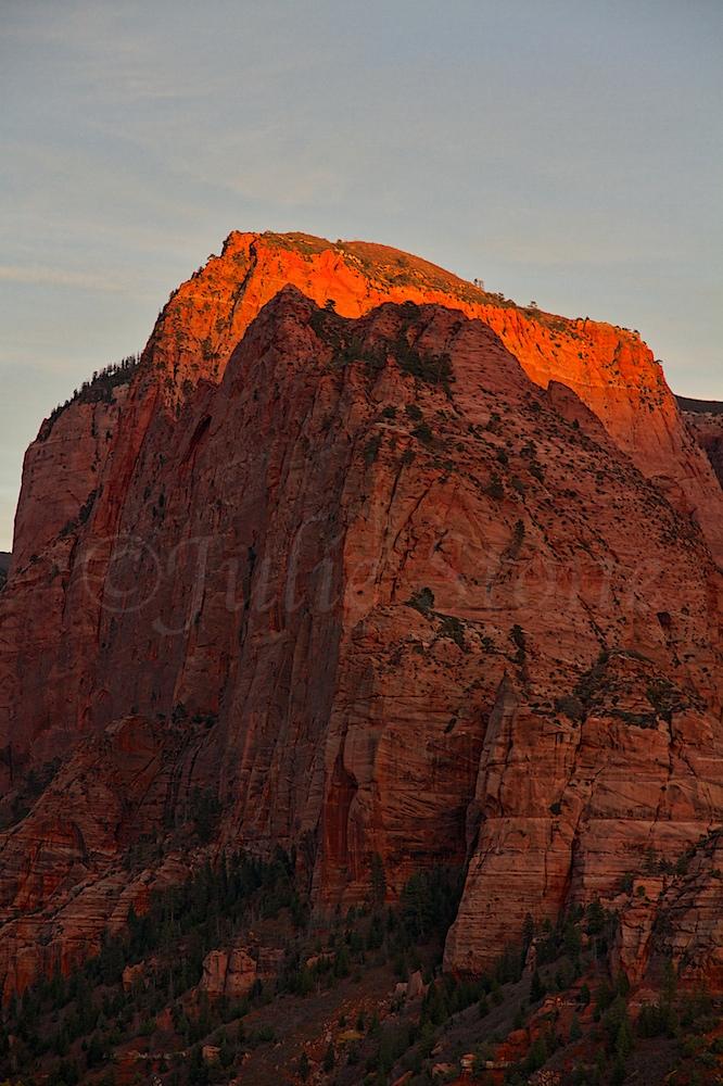 "Kolob Canyons ""Fire on the Mountain"" 2014"
