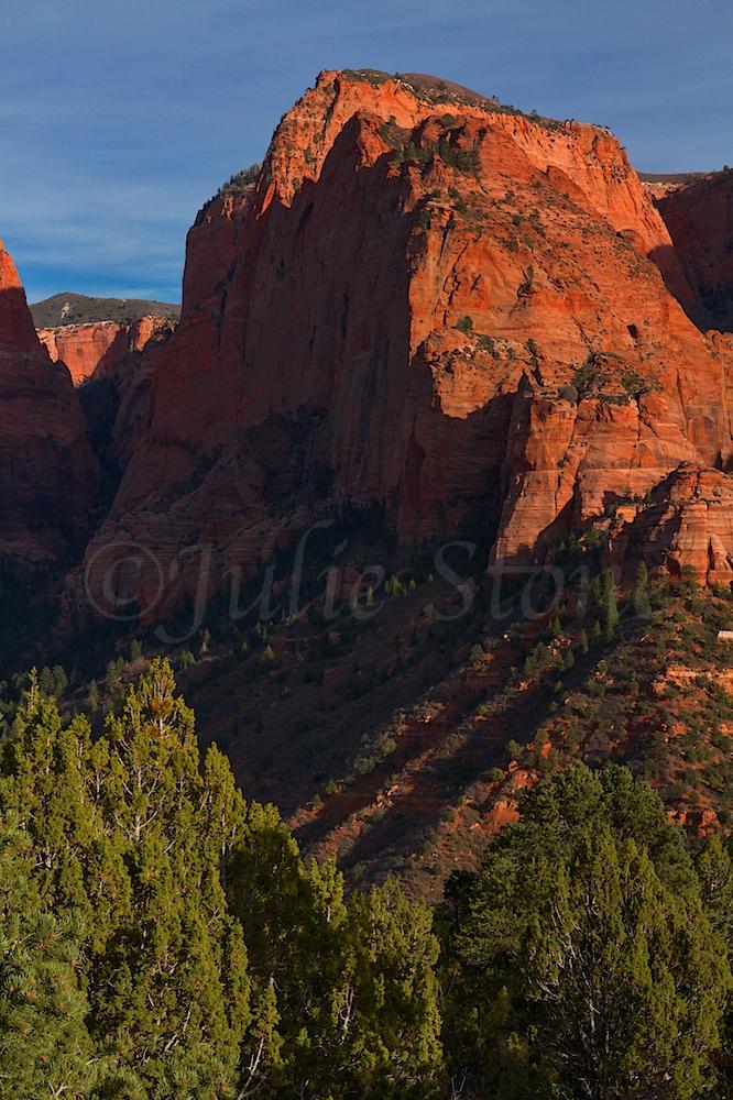 Kolob Canyons Sunset 2014 (4)