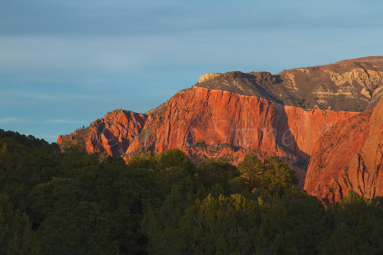 Kolob Canyons Sunset 2014 (2)