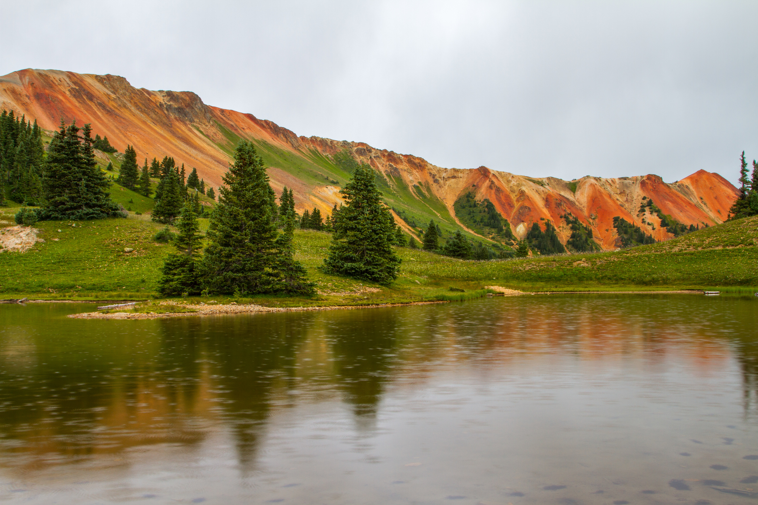 Gray Copper Gulch Raindrops, Image # 7686