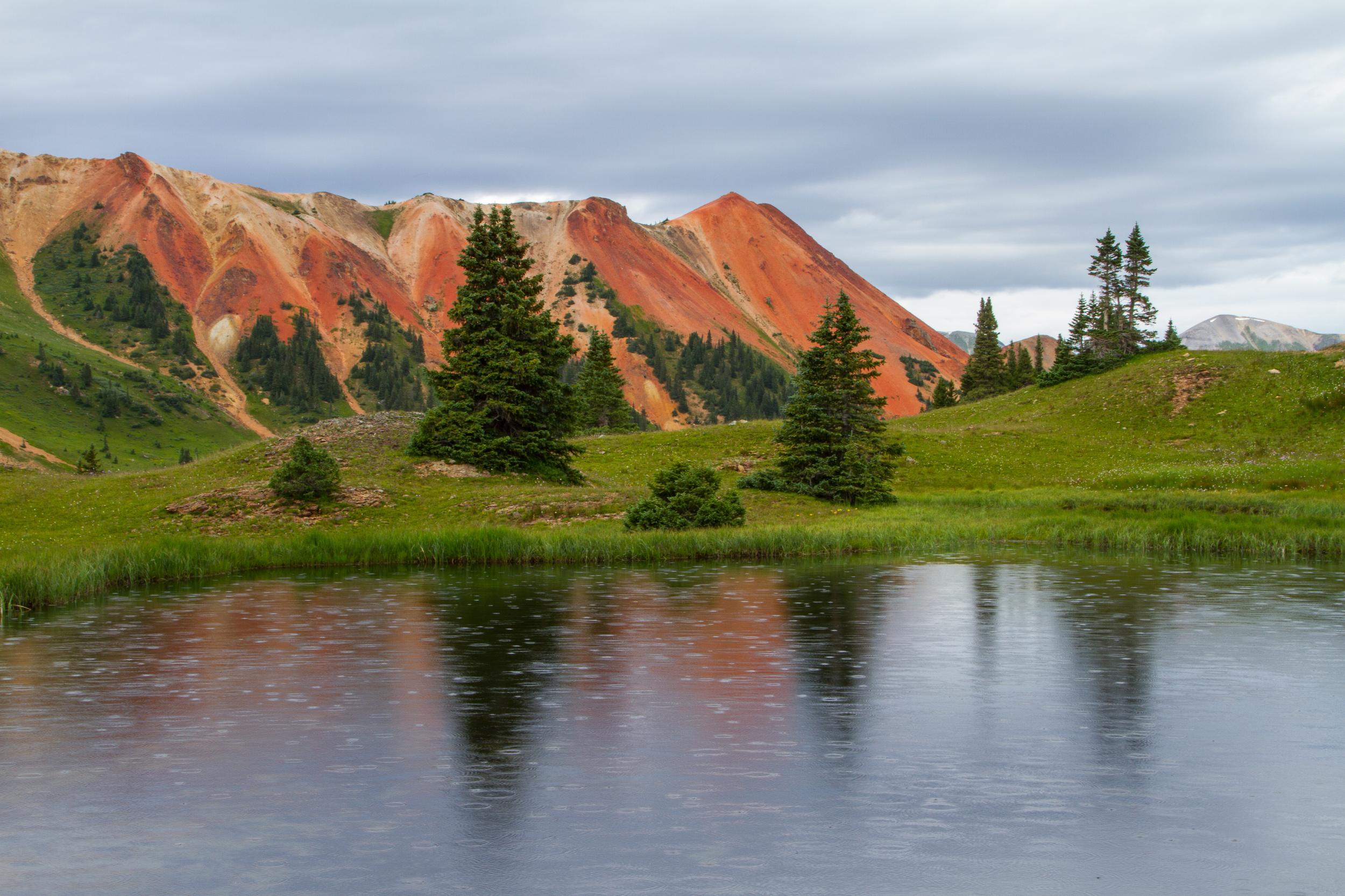 Gray Copper Gulch Raindrops, Image # 7822