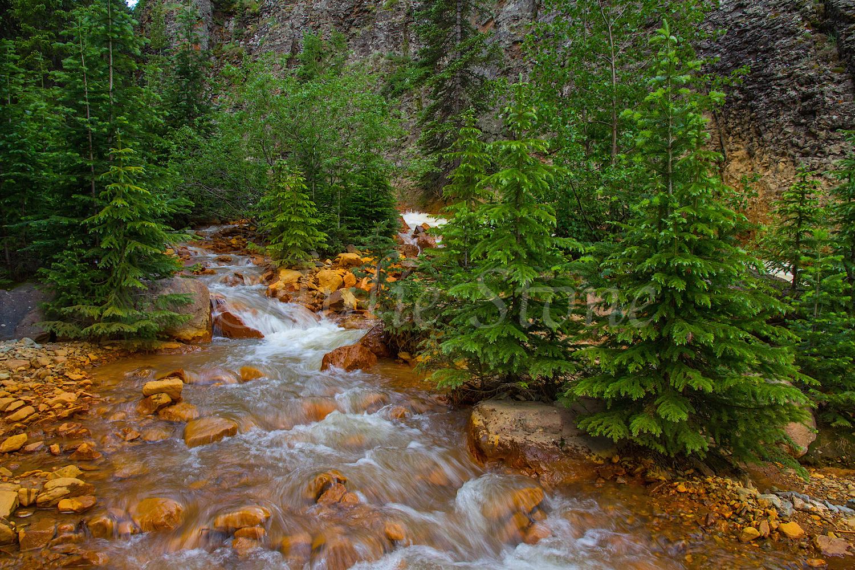 Uncompahgre River Gorge Falls, Image #9956