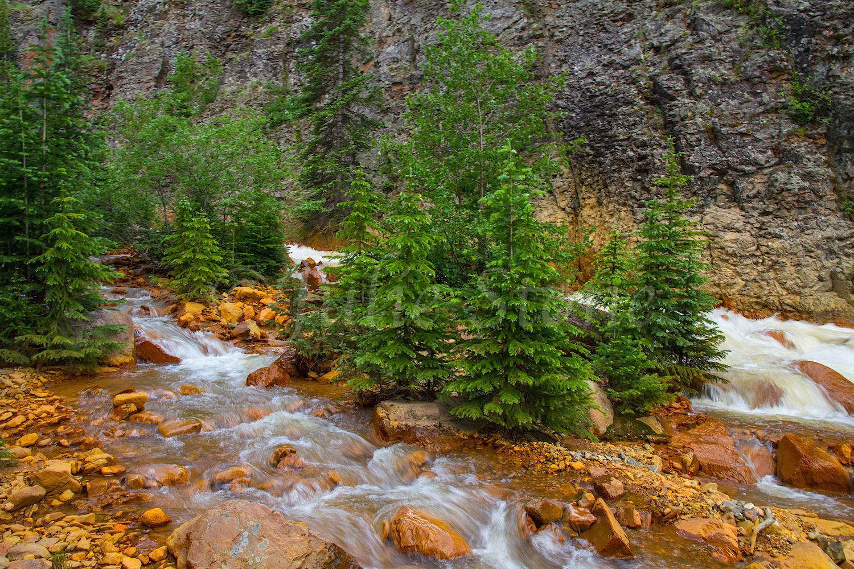 Uncompahgre River Gorge Falls, Image #9951