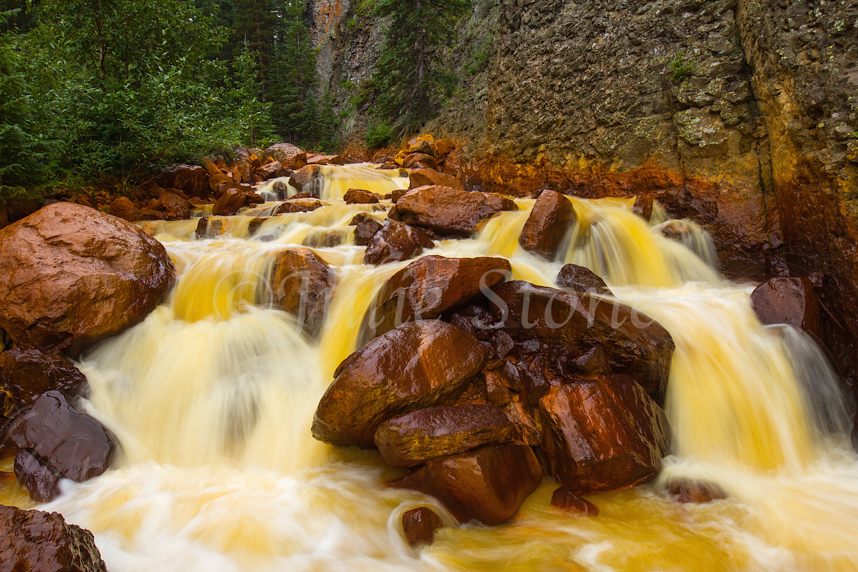 Uncompahgre River Gorge Falls, Image #4253