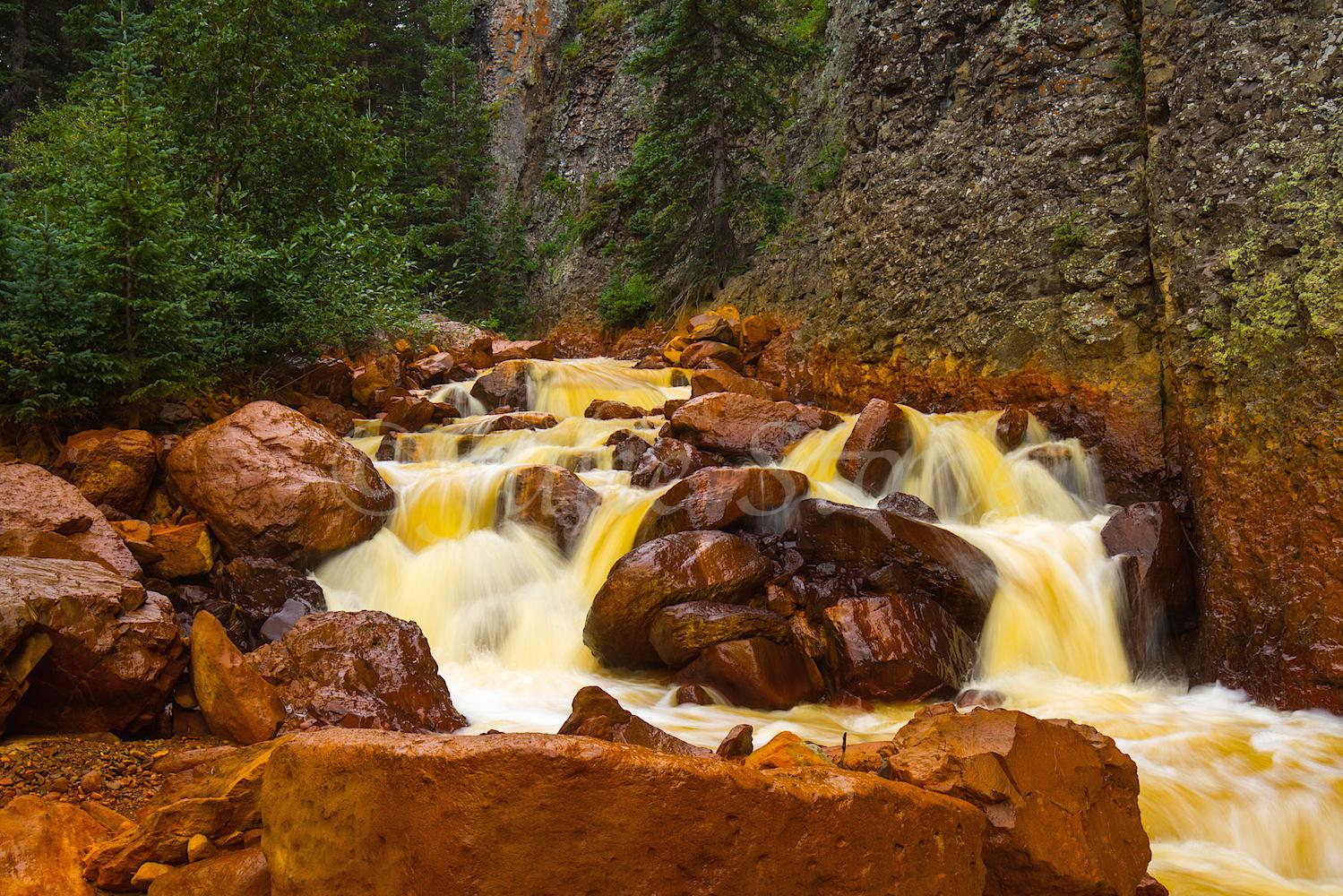 Uncompahgre River Gorge Falls, Image #4249