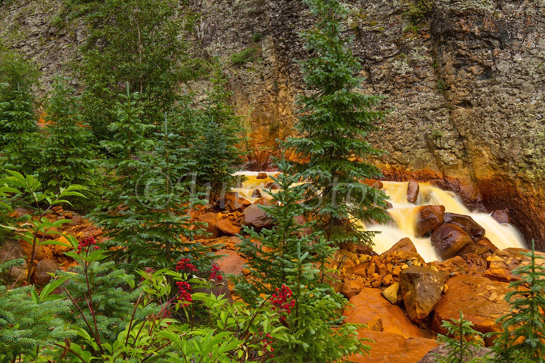 Uncompahgre River Gorge Falls, Image #4327