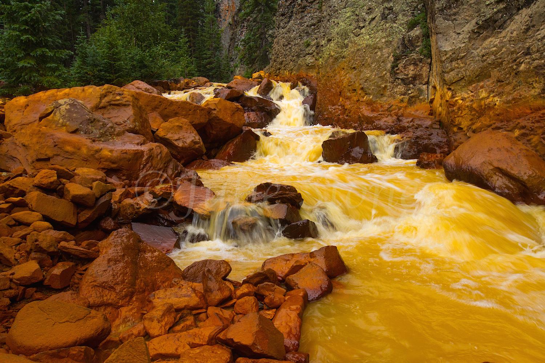 Uncompahgre River Gorge Falls, Image #4360