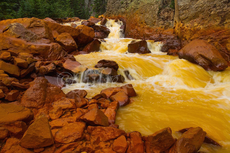 Uncompahgre River Gorge Falls, Image #4363