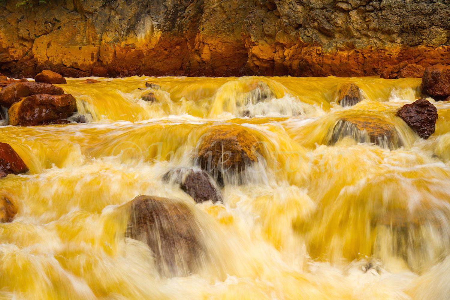 Uncompahgre River Gorge Falls, Image #4380