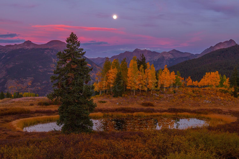 Molas Pass Sunset, Image #2489