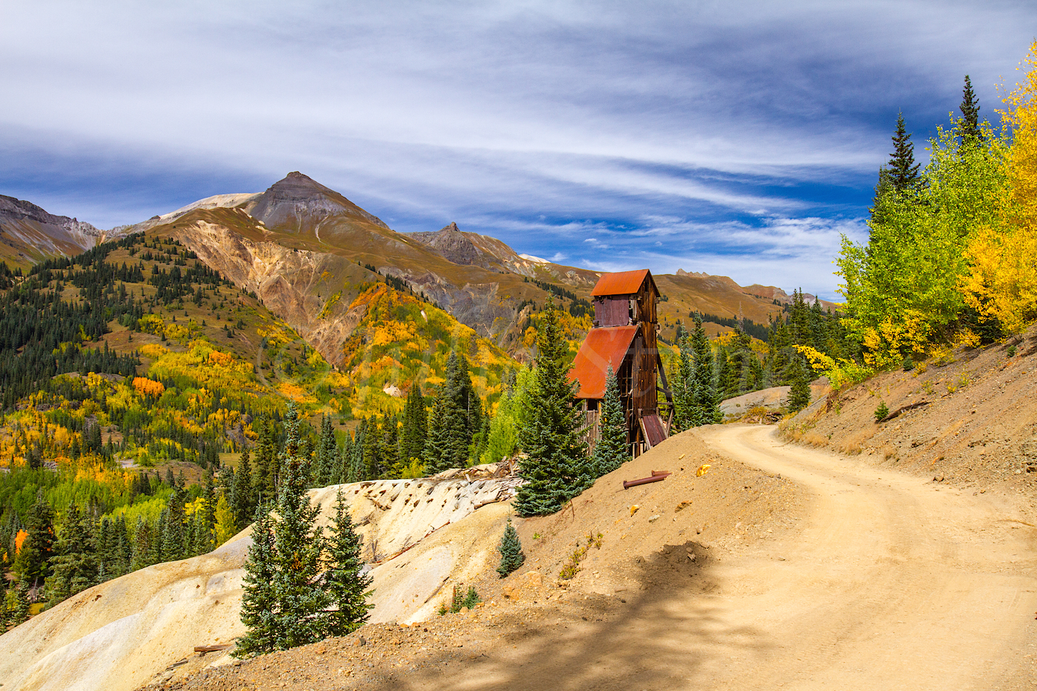 Red Mountain Fall Color, Image #9754