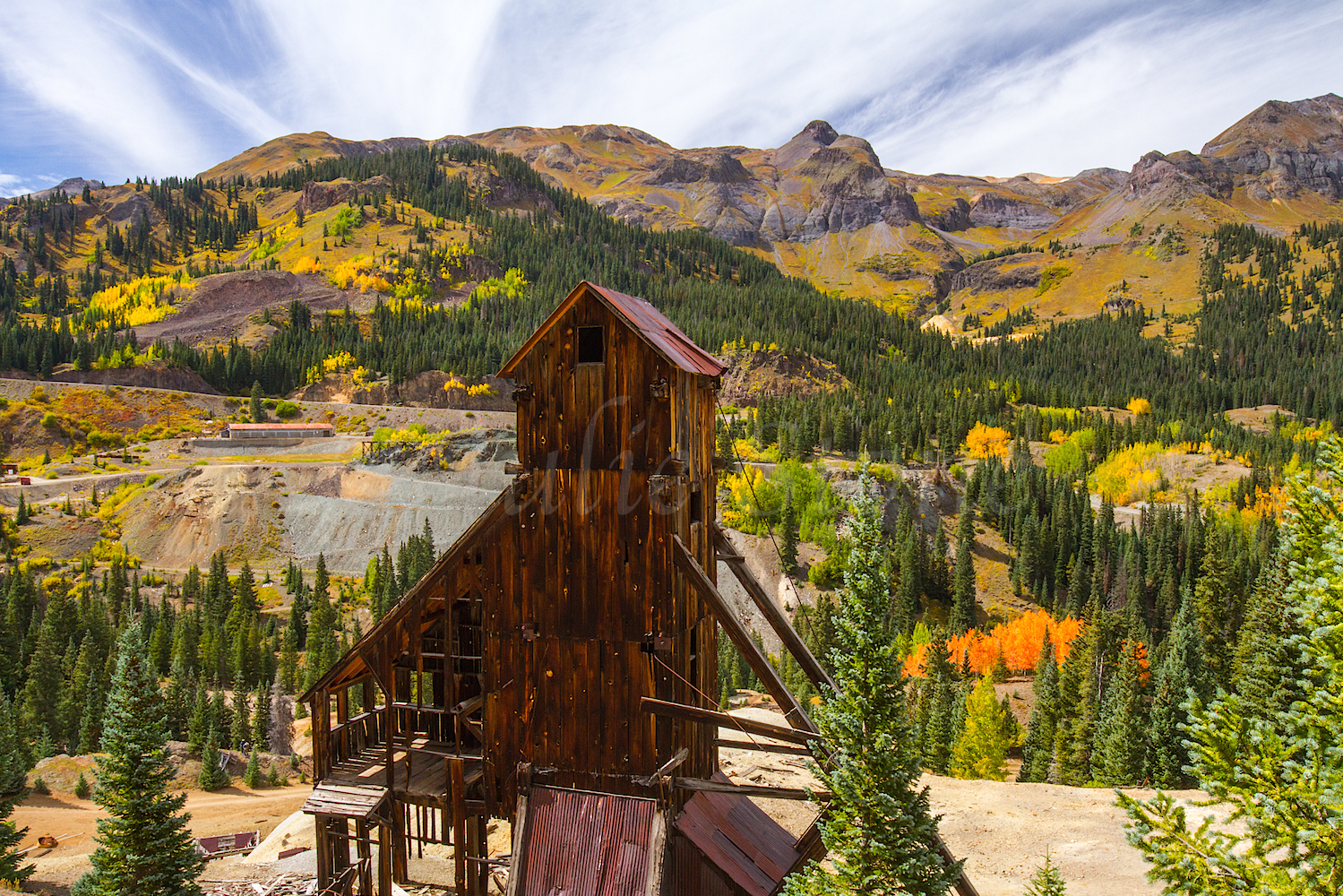 Red Mountain Fall Color, Image #9821