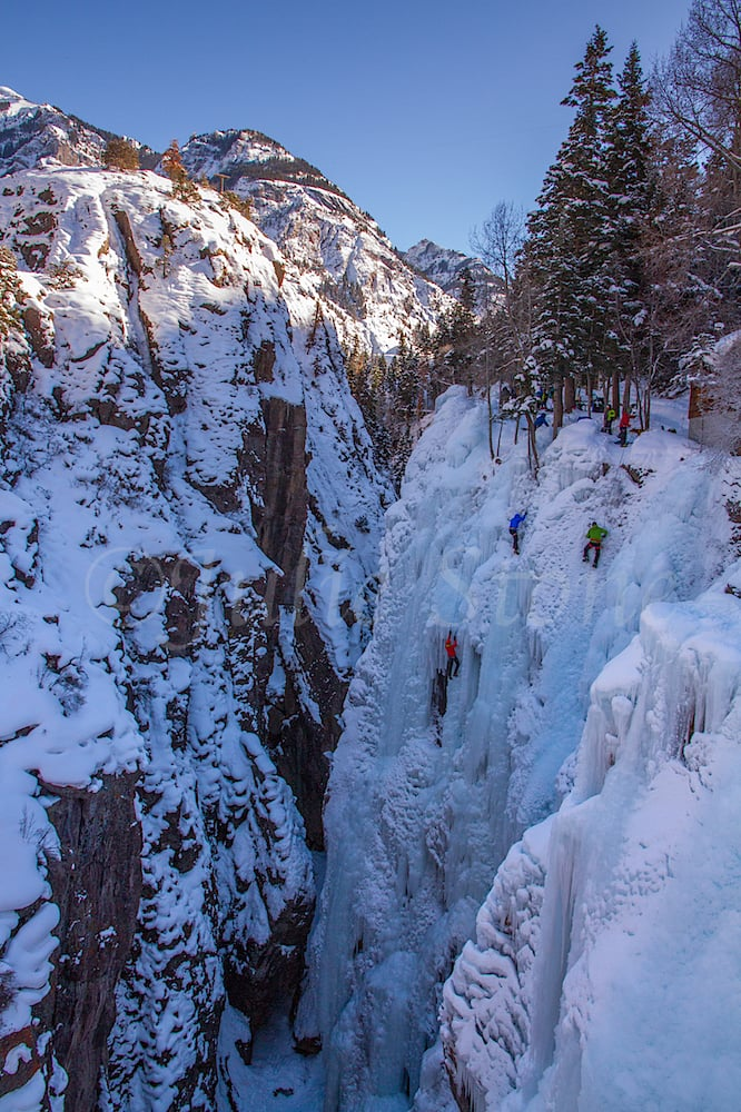 Ouray Ice Climbing Park, Image #1332