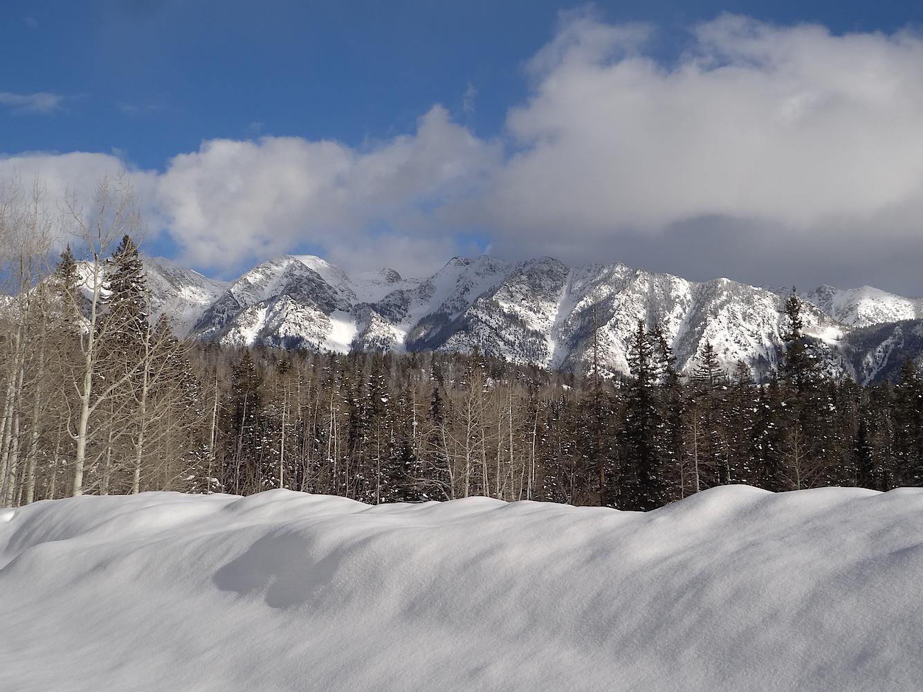 Lime Creek Road Snowshoe, Image #5429