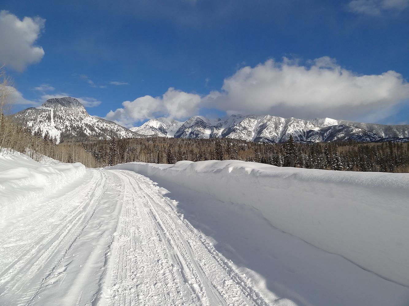 Lime Creek Road Snowshoe, Image #5454
