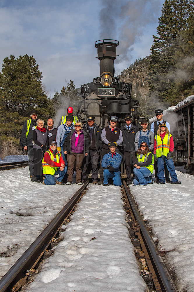 Thank-you to the Durango Narrow Gauge Train Conductor, Staff & Volunteers for a great trip.